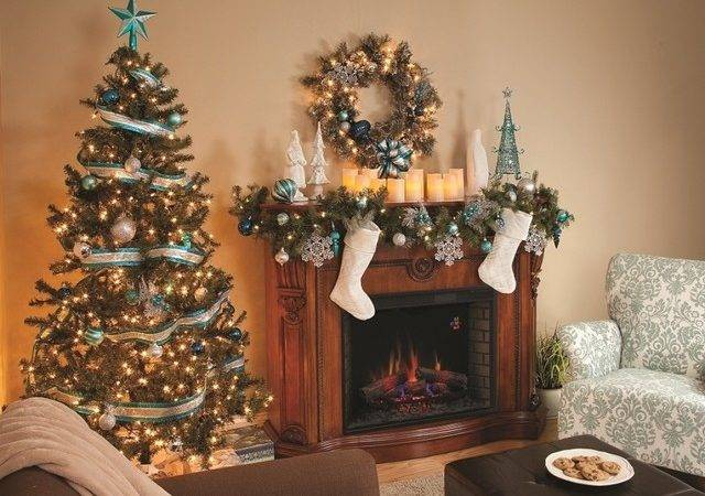 Country Christmas Mantel Decor Designcorner