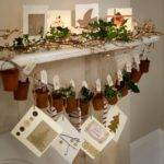 Country Christmas Mantelpiece Decorating Ideas