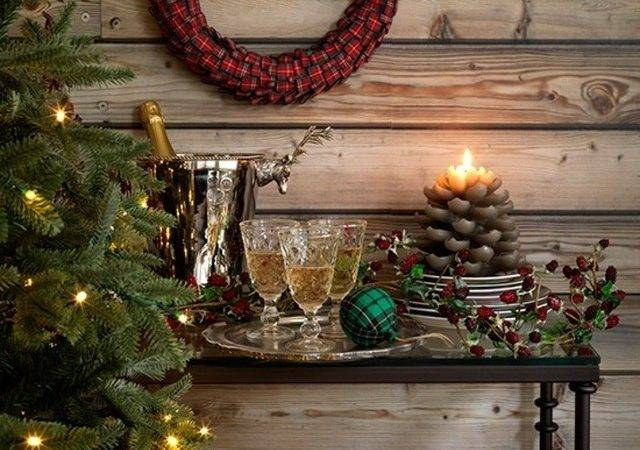 Country Christmas Table Decorations Designcorner