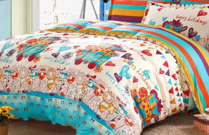 Country Colorful Cotton Clearance Teen Girl Bedding