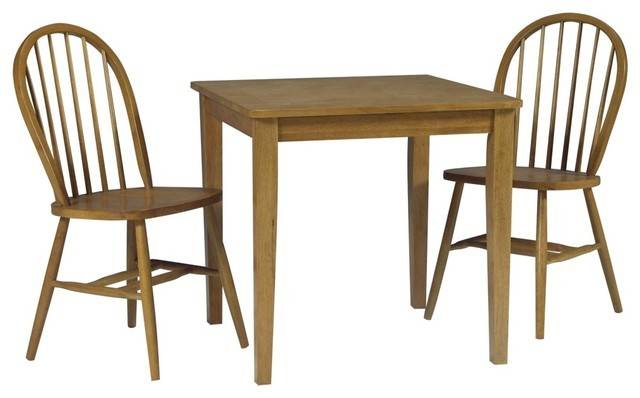 Country Cottage Brown Sugar Wood Table Windsor