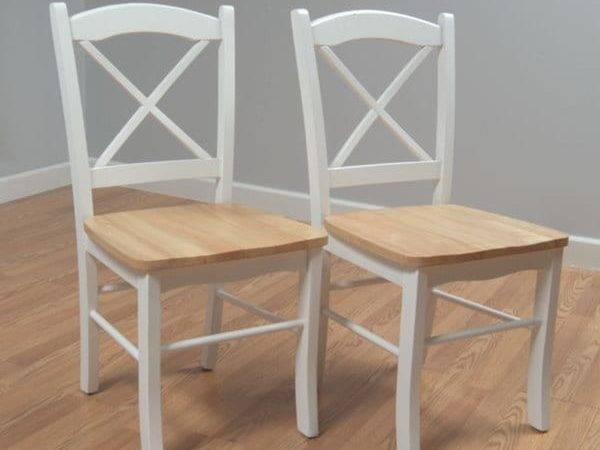 Country Cottage Dining Chair Set Chairs Kitchen