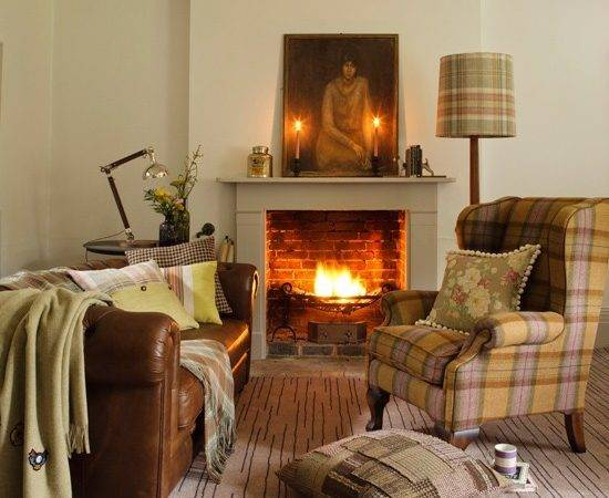 Country Cottage Living Room Decorating Ideas