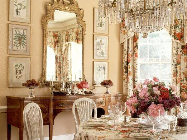Country Home Decore French Interior
