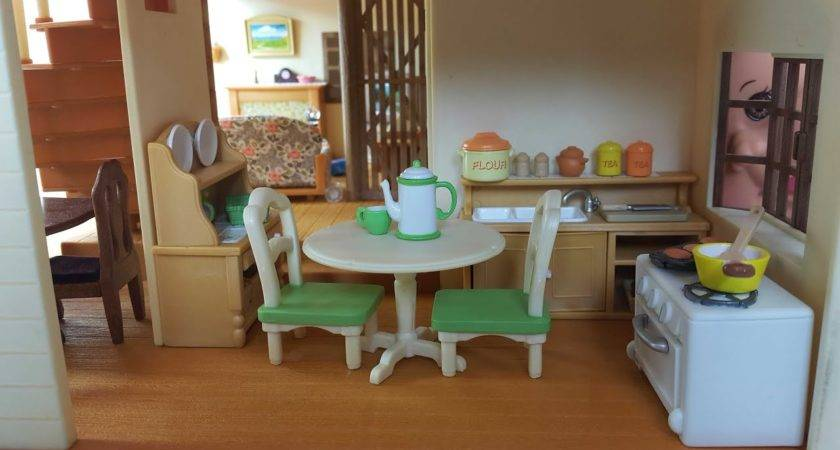Country Kitchen Set Sylvanian Families Calico Critters