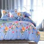 Country Style Floral Print Bedding Set Queen King