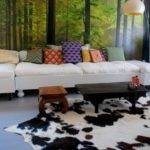 Cowhide Decorating Home