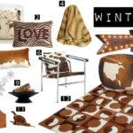 Cowhide Home Decor Wall Letter Western