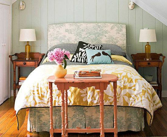 Cozy Cottage Style Bedrooms Home Appliance
