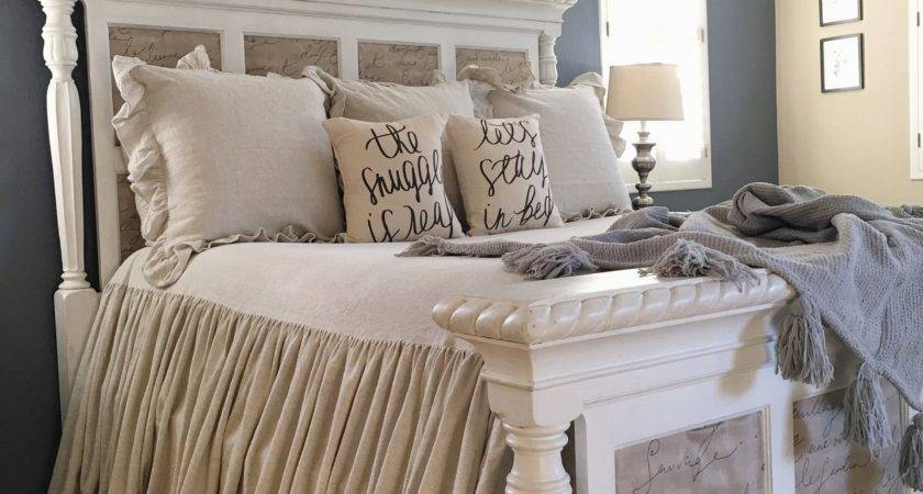 Cozy Farmhouse Master Bedroom Design Ideas Fres Hoom