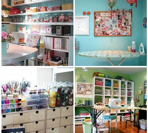 Craft Room Ideas Casual Cottage