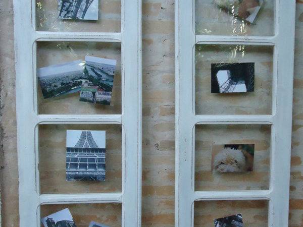 Crafts Ideas Made Old Windows Desired Home