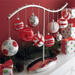 Crate Barrel Ornament Centerpiece