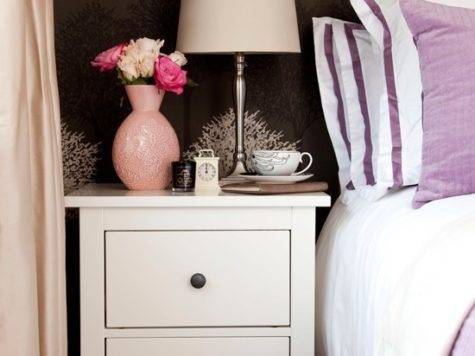 Cream Lavender Bedroom Decorating Ideas
