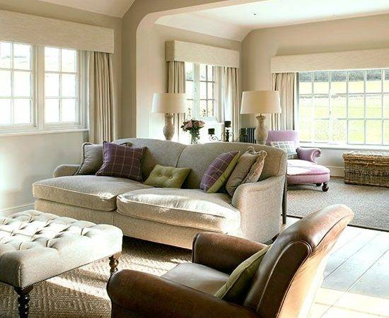 Cream Leather Living Room Housetohome