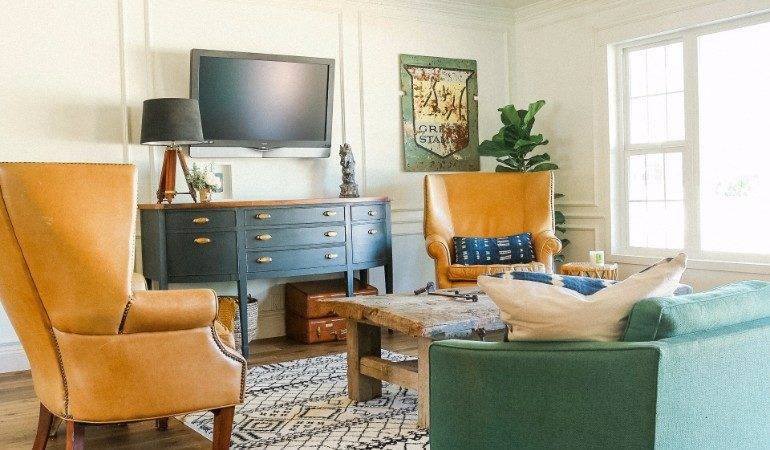 Create Eclectic Living Room Ideas
