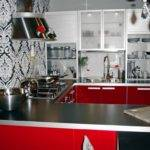 Create Incredible Kitchen Red Cabinet
