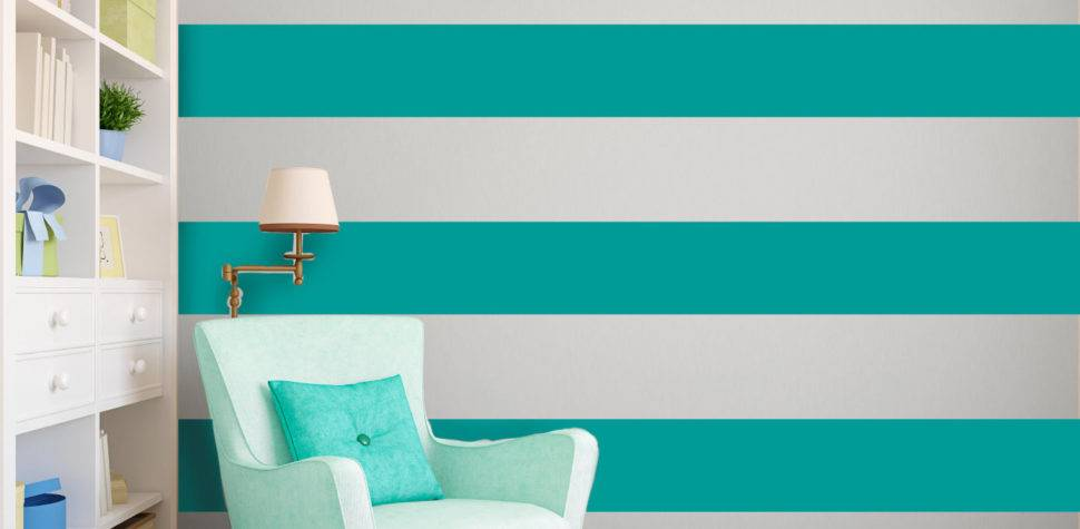 Create Interesting Ribbon Effect Your Walls