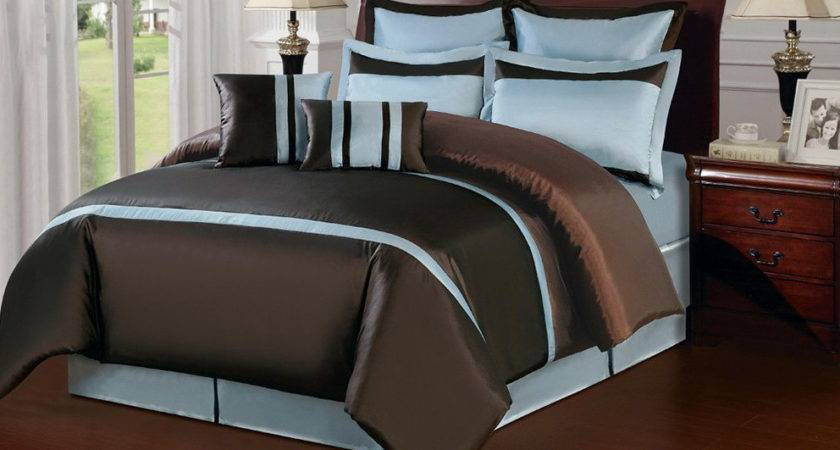 Create Paradise Your Bedroom Blue Brown