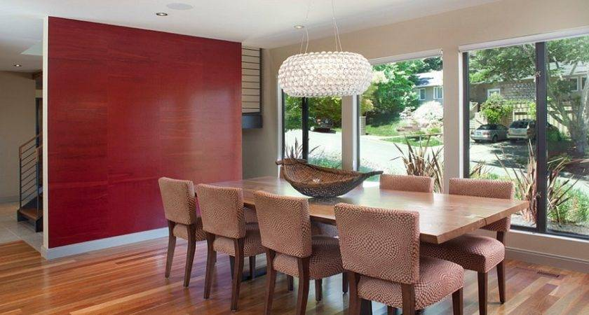 Create Sensational Dining Room Red Panache