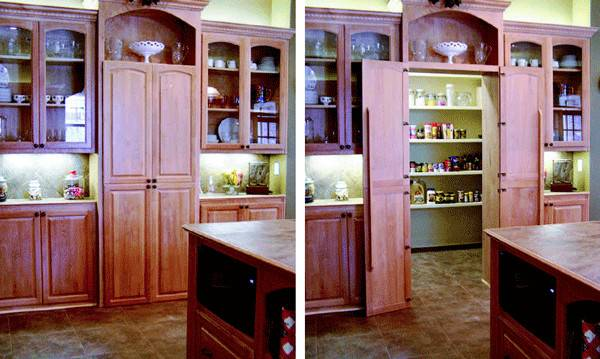 Creating Hidable Storage Kitchen Remodeling