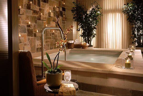 Creating Indoor Luxury Spa Room Home