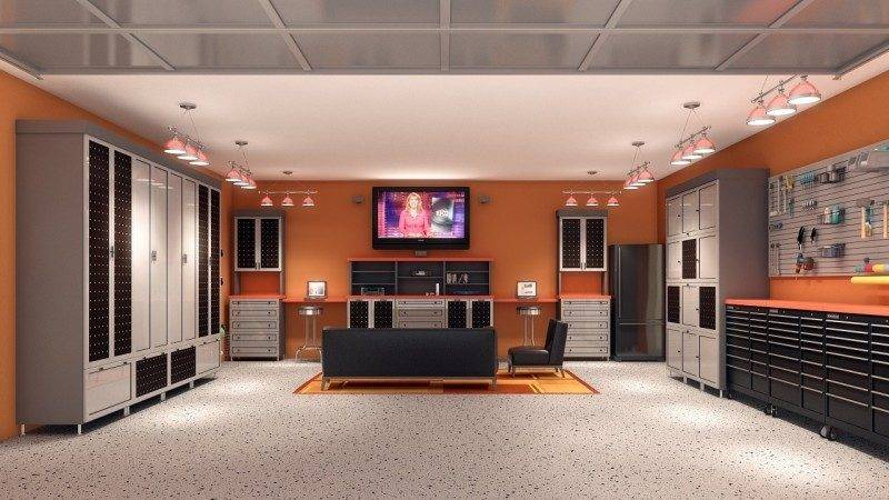 Creating Ultimate Man Cave Garage Home Trends