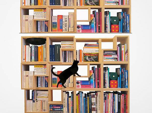 Creative Bookshelf Designs Bored Panda
