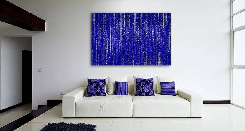 Creative Canvas Wall Art Ideas Living Room