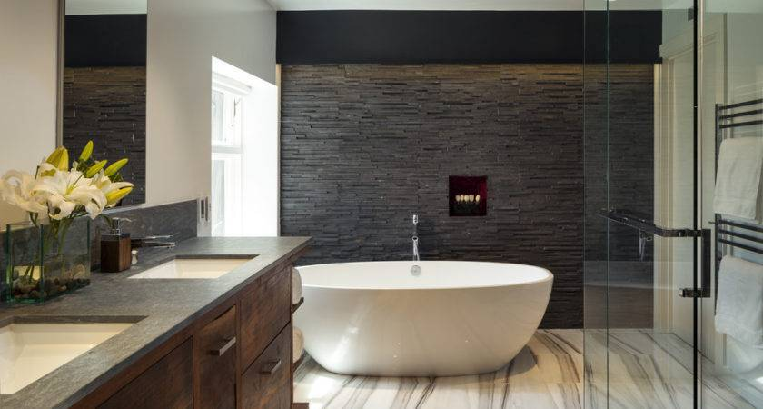 Creative Design Ideas Bathroom Feature Wall Designwud