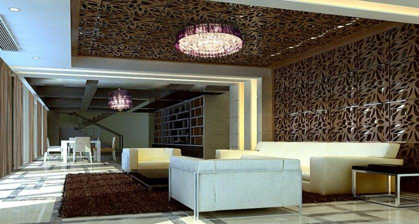 Creative Living Room Design Modern House