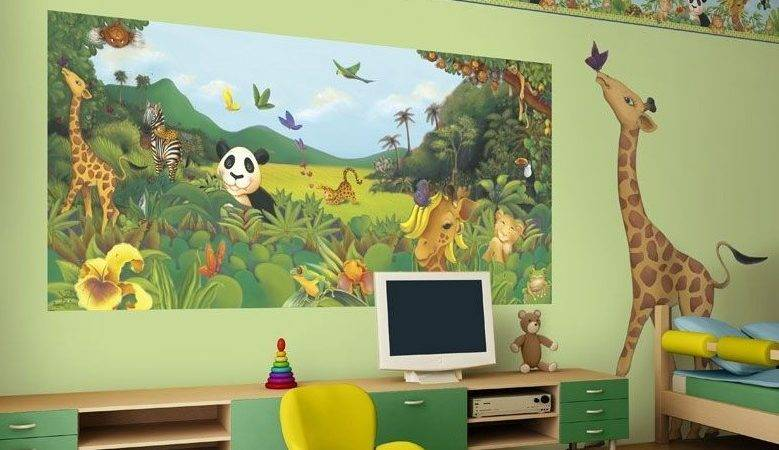 Creative Painting Ideas Kids Bedroom Home Designs