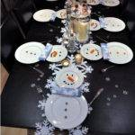 Creative Snowman Table Setting Ideas