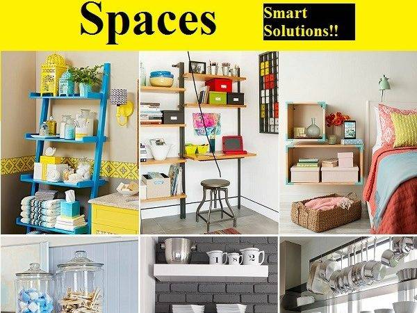 Creative Storage Ideas Small Spaces Home Life