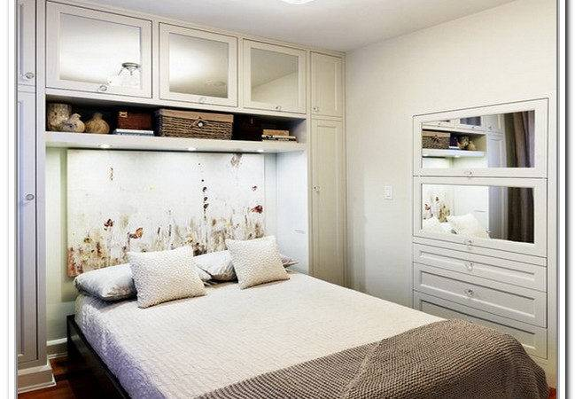 Creative Storage Small Bedrooms Home Design Ideas