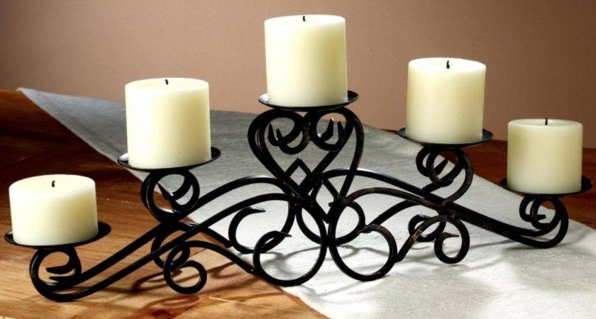 Creative Stunning Candle Centerpieces Tables
