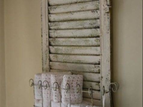Creative Uses Old Window Shutters Pics
