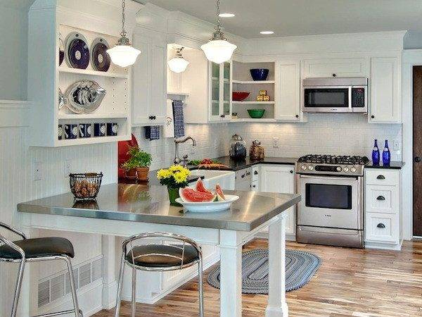 Creative Ways Save Space Your Small Kitchen