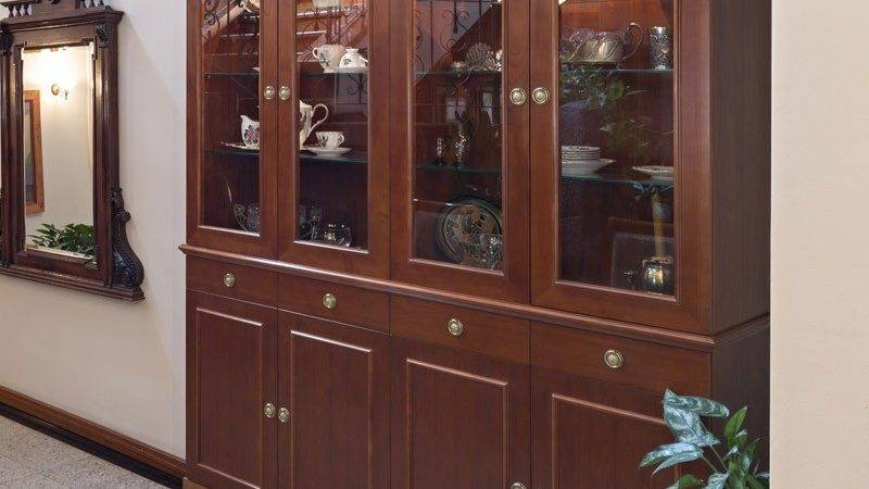 Crockery Cabinet Classical Dining Room Bhk