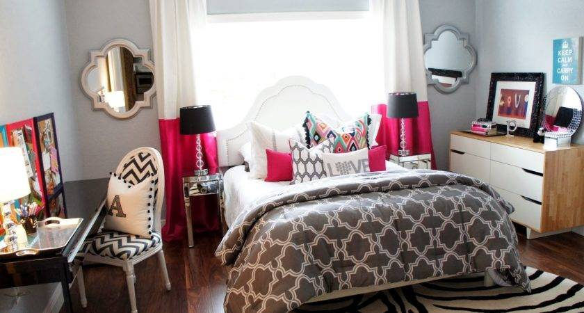 Cuban Coffee Teen Room Makeover Results