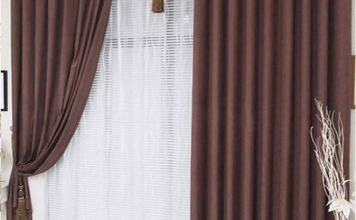 Curtains Brown Living Room Raybanglasssold
