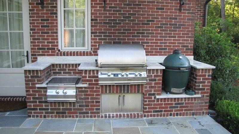 Custom Brick Bbq Grills Fire Pit Design Ideas