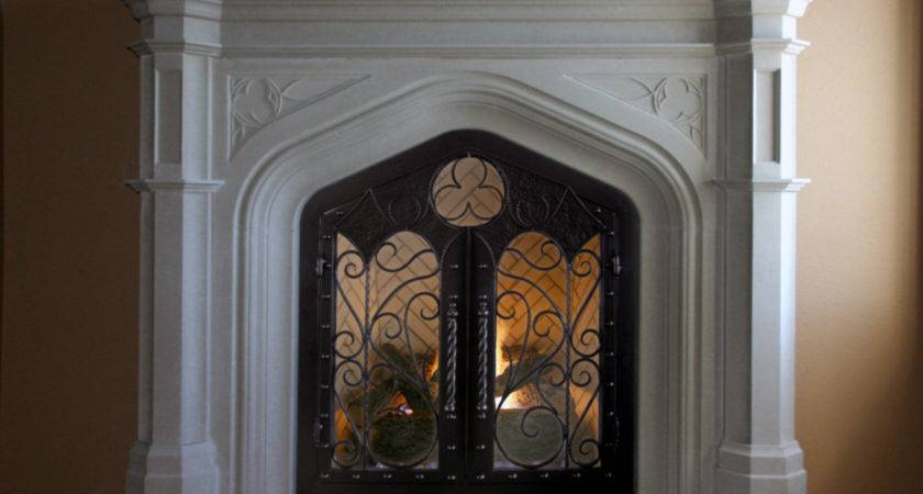 Custom Iron Doors Our Mantels Traditional