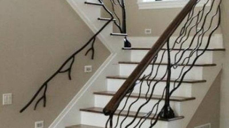 Custom Metal Handrail Designs Staircases Design