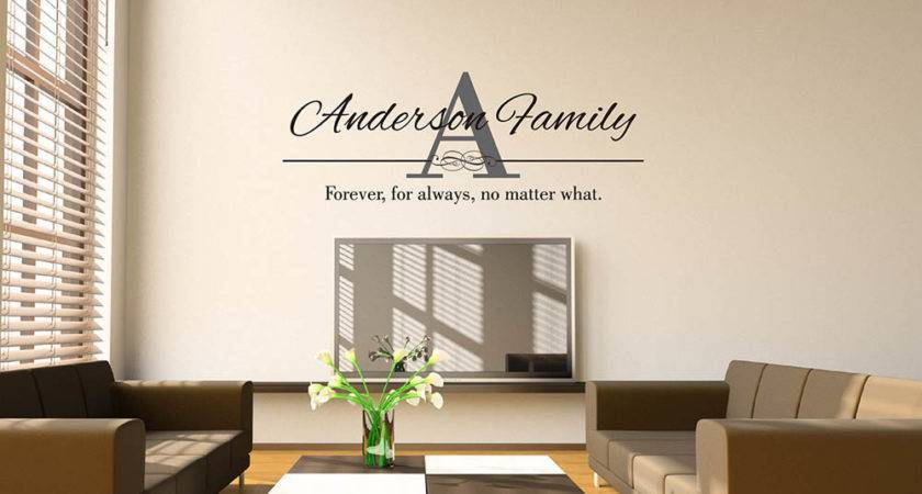 Custom Name Wall Sticker Diy Decal
