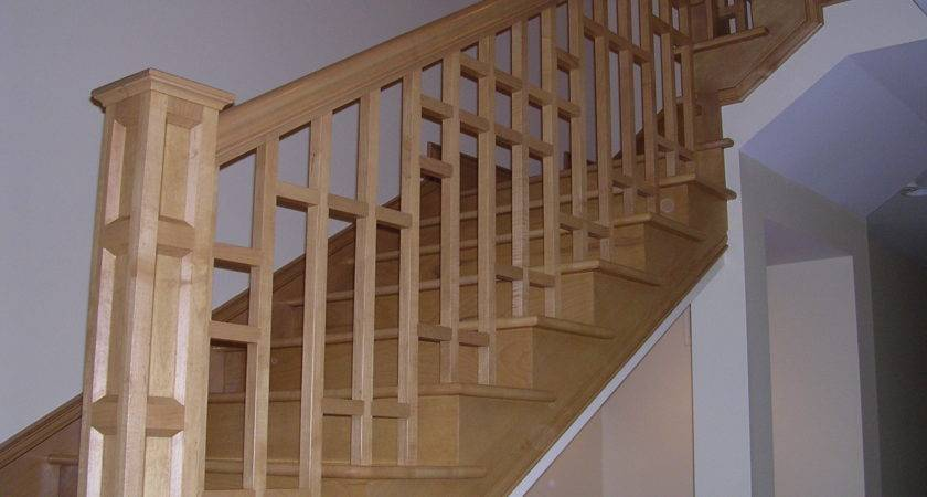 Custom Stair Railing Remodeling