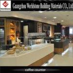Customized Design Coffee Shop Cashier Counter Sale