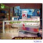 Customized Nail Kiosk Manicure Bar