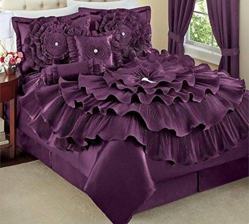 Cute Awesome Purple Comforter Sets Your Bedroom