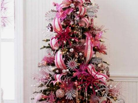 Cute Beautiful Pink Christmas Tree Decorating Ideas